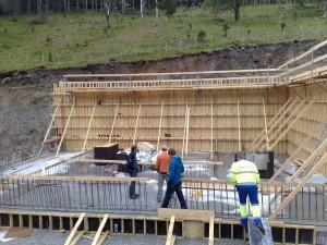 Forskaling av sedimenteringsbasseng 18.05.09