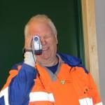 Driftsoperatør Kjetel Lindeland filmet åpningen